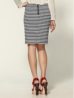 Bleecker Ponte Skirt  by Tinley Road
