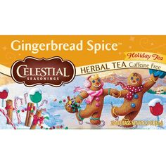 Celestial Seasonings Gingerbread Spice Herbal Tea, 20 Count (Pack of 6) ** Awesome product. Click the image at  : Amazon fresh