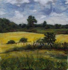 Felt Inspiration: Felt Landscapes