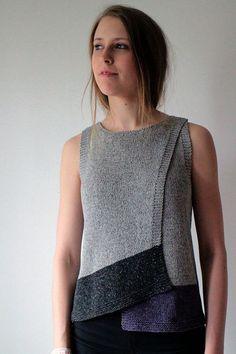 Топ Maja вязаный спицами от дизайнера Marita Rolin