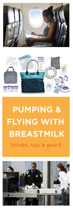 Amazing post on how to pump and transport breastmilk when you're flying. So many tips for the breastfeeding mother I never would have thought of!