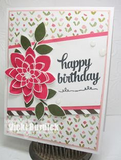It's a Stamp Thing: Sweet Sunday...happy birthday, Crazy About You Stamp Set