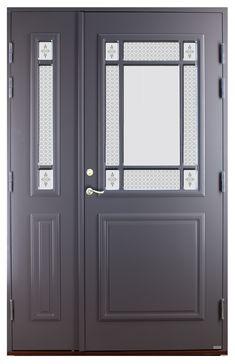 Bilderesultat for ytterdør med sidefelt Grill Door Design, Windows And Doors, Tall Cabinet Storage, Building A House, Porch, Furniture, Management, Content, Home Decor