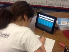 6th grade IMPACT math using Socrative