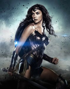 "dcfilms: "" Gal Gadot as Diana Prince/Wonder Woman in ""Batman v Superman: Dawn of Justice"" ""- CLS Wonder Woman Art, Wonder Woman Kunst, Gal Gadot Wonder Woman, Wonder Woman Movie, Wonder Women, Superman Dawn Of Justice, Batman Vs Superman, Superman Movies, Marvel Dc"