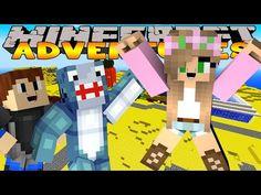 Minecraft - Little Kelly Adventures : TRIP TO BIKINI BOTTOM (W/Scuba Steve & Sharky) - YouTube