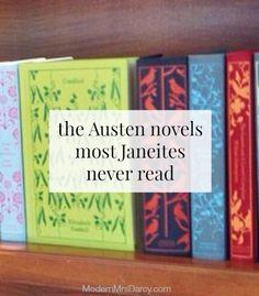 The Austen novels most Janeites never read (but true Jane Austen fans shouldn't miss!)