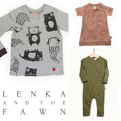 Lenka & The Fawn Bring European Children's Fashion To America via Child Mode