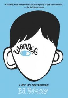 Wonder by R.J. Palacio.  Click the cover image to check out or request the teen kindle.
