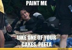 What Katniss and Peeta did with Their Spear Time in The Arena :)