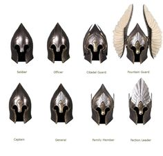 Gondor helmets