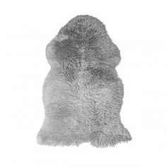 Gefärbtes, langwolliges Deko-Lammfell mit einer Länge von 80 – 90 cm #gameofthrones