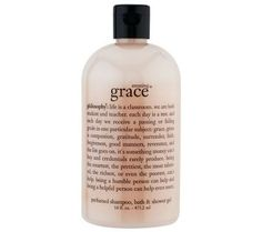 philosophy amazing grace shampoo, bath & shower gel — QVC.com
