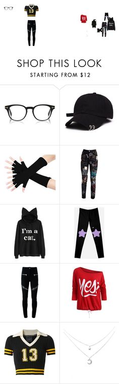 """""""Swagged Nerd"""" by missswager434 ❤ liked on Polyvore featuring Dolce&Gabbana, Givenchy and Puma"""