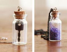 Bottle Necklace DIY