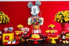 Festa infantil do Mickey