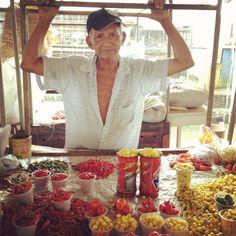 O Rei da Pimenta - no mercado Ver-o-peso em Belém!