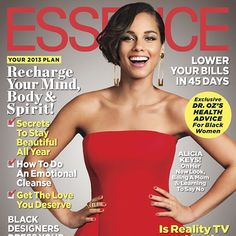 Alicia on the cover of Essence Magazine