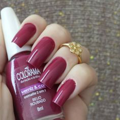 Perhaps you have discovered your nails lack of some fashionable nail art? Yes, lately, many girls personalize their nails with beautiful … Nails Polish, Matte Nails, Glitter Nails, Fun Nails, Matte Gel, New Nail Designs, Acrylic Nail Designs, Art Designs, Design Art