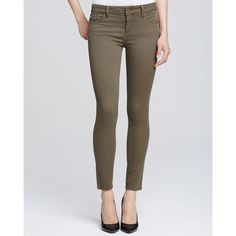 DL1961 Flor Jeans in Farley ($178) found on Polyvore featuring jeans, farley, highwaist jeans, olive green jeans, olive jeans, zipper jeans and high rise jeans