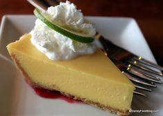 Key Lime Pie at Cap'n Jack's at Downtown Disney, #Disney World | the disney food blog