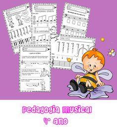 ATIVIDADES DE EDUCAÇÃO INFANTIL  E MUSICALIZAÇÃO INFANTIL: PEDAGOGIA MUSICAL 4º ANO - Loja abc musical kids