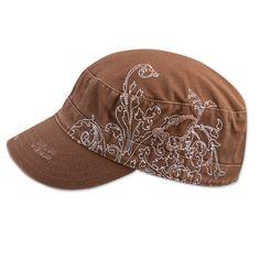 Bird Vine Hat by Aventura Clothing in color Rain Drum