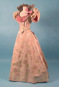 Brocade & Velvet Ball Gown, c. 1895 March 25, 2004 - Session 2 - Lot 511 - $1,400