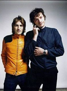 Noel and Julian Julian Barratt, Noel Fielding, Pretty People, Beautiful People, The Mighty Boosh, Human Bean, Through Time And Space, British Comedy, Together Forever