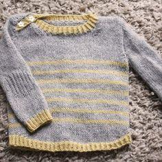 Pull bébé Tout Petit Large 0-18m - tricot - Tutoriels de tricot chez Makerist