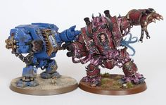 Tale of Painters: Tutorial: How to Paint the Chaos Helbrute from Dark Vengeance