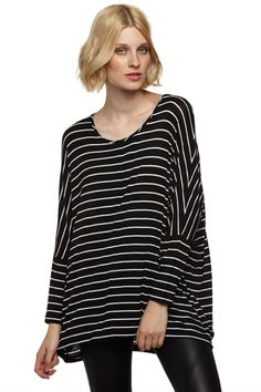 Shop stylish Womens, Mens, Kids, Baby clothes, accessories & more! Black Tops, Black And White, Kids Outfits, Tunic Tops, Stylish, Blouse, Cotton, Clothes, Shopping