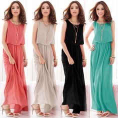 ——————————————————————————————- *Product Name: 2016 New Style Summer Elegant Woman Plus Size Loose Chiffon Womens Casual Maxi Long Beach Bohemian Dress *Real Pictures: *Note: Due to Different Monitor Settings, The Actual Items' Color Maybe a Little Different From The Picture Shows. Before You Making Payment, Please Consider That Carefully. Thanks. *The Price Only Include 1Xdress, Not ...