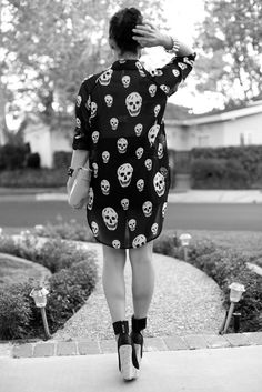 Skulls and those shoes!!!!!