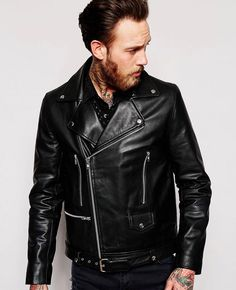 http://www.quickapparels.com/best-selling-leather-biker-jacket-with-belt-in-black.html