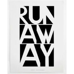 Black and white graphic print Runaway by US kids fashion brand Mini & Maximus. Printed on white recycled paper with water based ink. Little Boy Fashion, Kids Fashion, Wall Prints, Poster Prints, Modern Kids, Running Away, Kids Decor, Paper Size, Frames On Wall