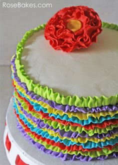 Rose Bakes | Fiesta Themed Party | Great Idea for Cinco de Mayo | http://rosebakes.com