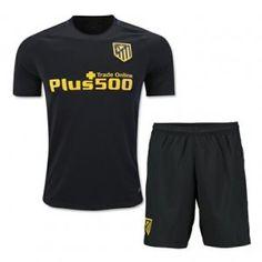 16-17 Club Atletico de Madrid Away Cheap Replica Jersey Kit (Shirt+Shorts) [G00538]