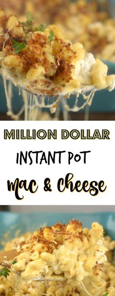 Million Dollar Instant Pot Mac and Cheese - Adventures of a Nurse