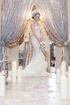 WedLuxe– Lavish Mermaid | Photography By: Ten Over Six Photography  Follow @WedLuxe for more wedding inspiration!