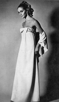 Dior dress,UK Vog1966Dior dress,UK Vogueue