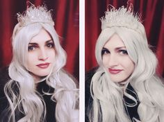 Sketches of a Life: DIY Ice Crown  #diy #icecrown #mardigras #halloween #budget #tutorial