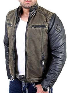 Biker Style, Jacket Style, Vintage Jacket, Vintage Men, Motorcycle Jacket, Bomber Jacket, Men's Jacket, Herren Style, Leather Men