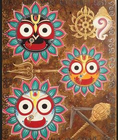 Jagannath Images are very popluar item among the Jagannath Believer. Here we put in 51 best Images of Lord Jagannath from all over the internet. Durga Painting, Buddha Painting, Wood Painting Art, Cake Painting, Black Painting, Mandala Painting, Silk Painting, Hare Krishna, Krishna Art