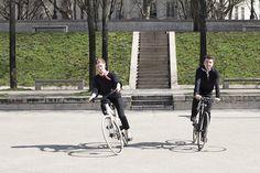 The Flâneur and Flâneur sportif d'Hermès unisex bikes. #FlaneurdHermes #Hermes #bike #bicycle #velo