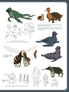 Avatar Legend Of Aang, Team Avatar, Avatar Aang, Fantasy Monster, Monster Art, Korra, Avatar Animals, The Last Avatar, Avatar World