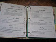 Recipe book - templates and ideas