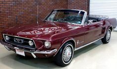 1967 Mustang Shelby  (: i live in the Mojave Desert and if i could have just one car this would be it - yea, the temps reach 120 here in the summer :)