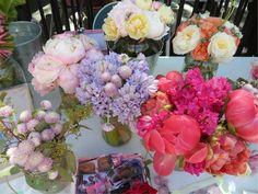 recap of letterpress cards & flower arrangements from my 1st Hester Street Fair