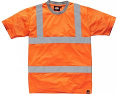 Dickies High Visibility GO/RT T-Shirt -  Orange